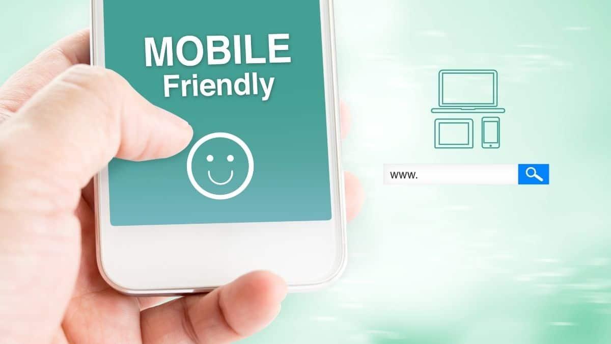"Co to znaczy ""Be mobile friendly""?"